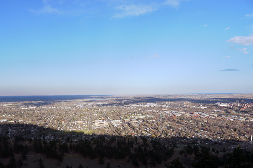 A view of Boulder