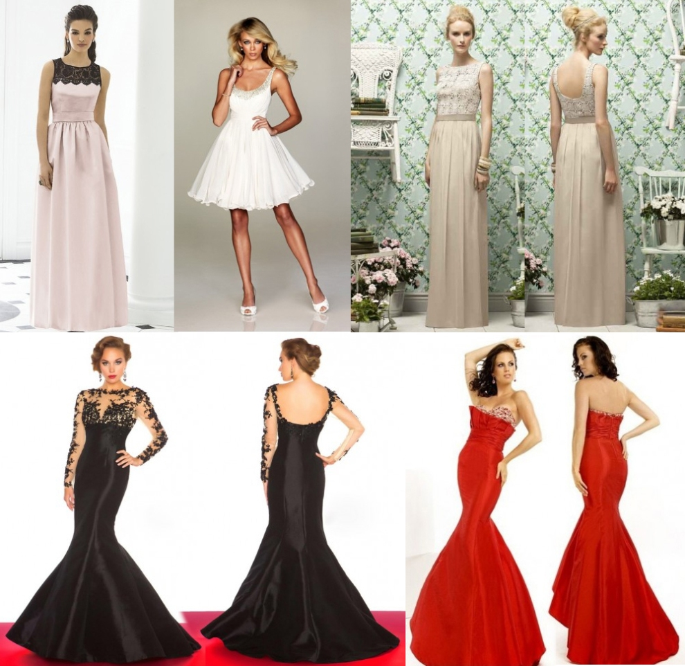 Dazzling Dresses For Discerning Damsels