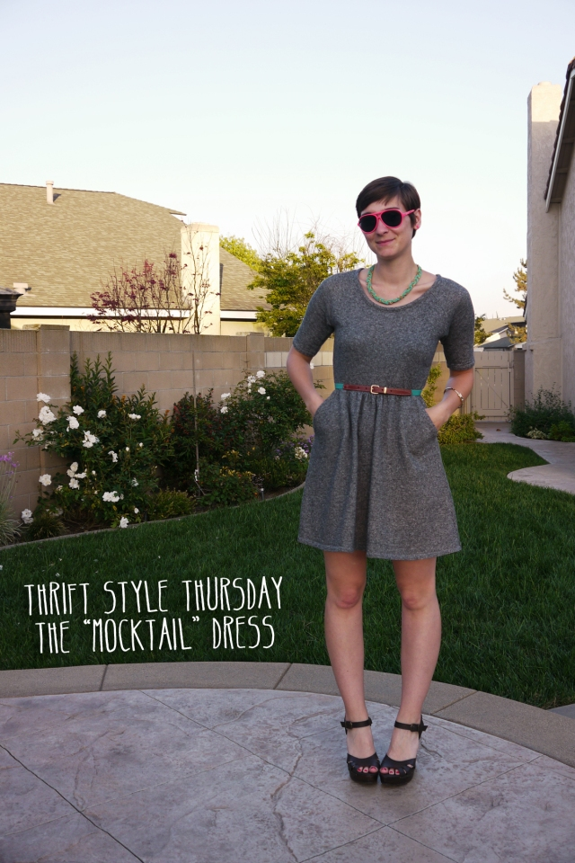 Thrift-Style-Thursday-jersey-dress-neon_title