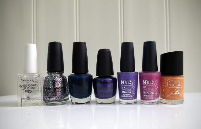 summer-nights-nail-art-link-up-polishes