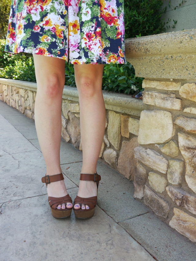 Thrift-Style-Thursday-floral-dress-tan-wedges