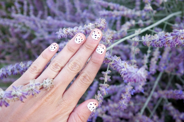 #monthlymani-ice-cream-summer-nail-art-lavender