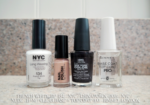 #monthlymani-polishes-NYC-Rimmel-HM