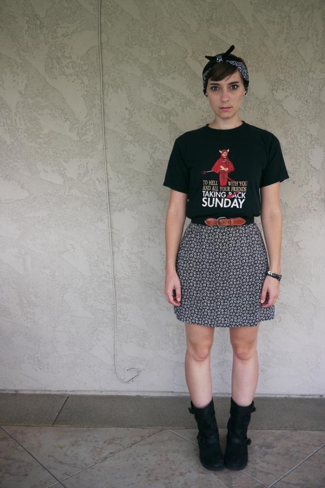 Thrift-Style-Thursday-Goth-black-band-shirt-dress_01