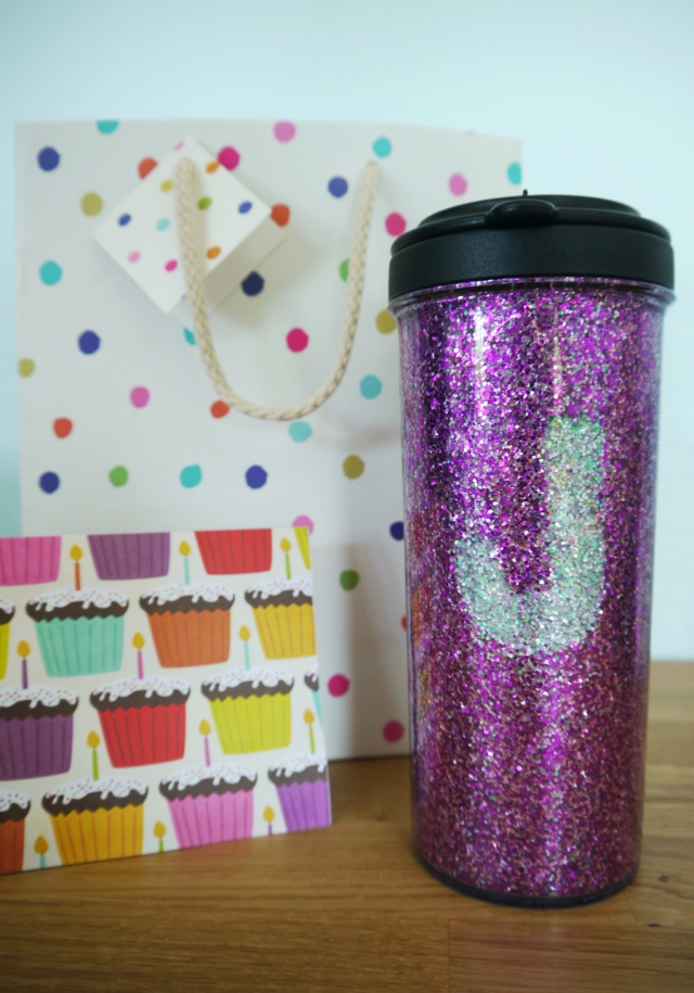 #DIY-glitter-cup-birthday-gift