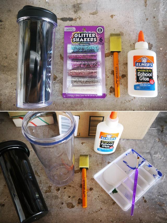 #DIY-glitter-cup-supplies
