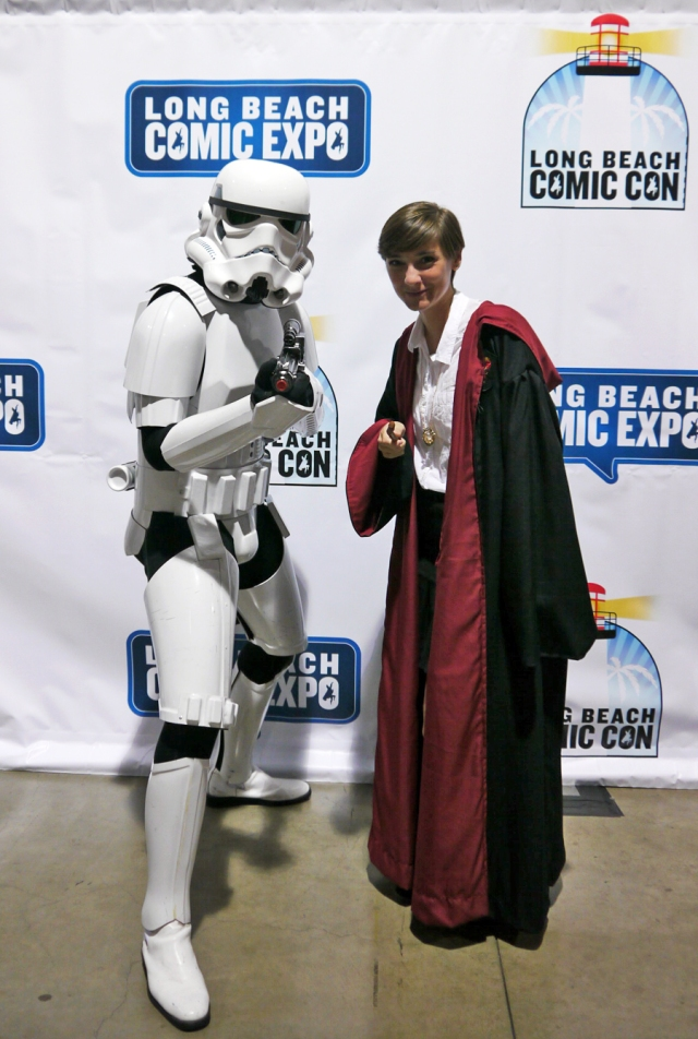 Who do you think would win: a storm trooper or a witch/wizard??