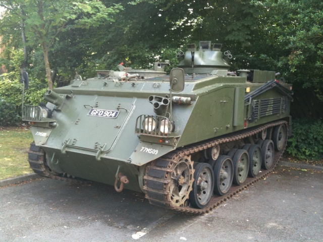 """I want THIS in my garage!  (photo credit: """"An old army tank"""" by """"MIkey"""" C.C. 2.0)"""