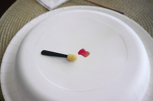 #MonthlyMani-pink-ombre-nail-art-setup
