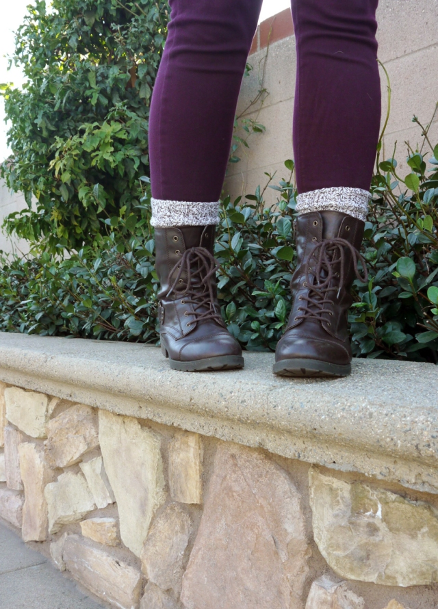 thrift-style-plaid-shirt-burgundy-jeggings-combat-boots